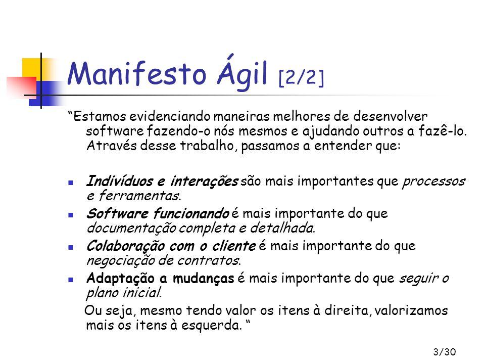 Manifesto Ágil [2/2]